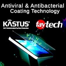 Kastus Coating for faytech touch screens