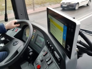 Bus Touch Monitor