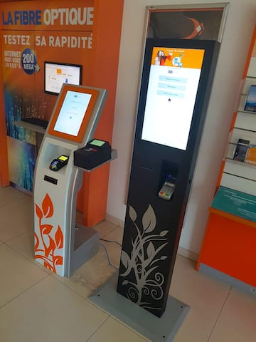 faytech Kiosk with Payment system