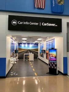 fytech digital signage kiosk at Carsavers